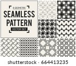 abstract concept vector... | Shutterstock .eps vector #664413235