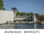 hydro power plant in poland | Shutterstock . vector #664431271