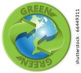 green | Shutterstock .eps vector #66449311