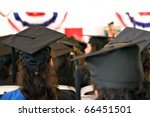 a group of college or high... | Shutterstock . vector #66451501