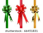 Ribbon bow collections - stock photo