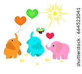vector flat illustration for... | Shutterstock .eps vector #664523041