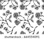 vector illustration of vintage... | Shutterstock .eps vector #664554091
