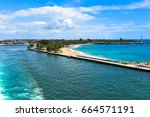 playa punta torrecillas astern... | Shutterstock . vector #664571191