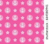 sea seamless pattern background ...   Shutterstock .eps vector #664580941