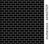 seamless surface pattern design ... | Shutterstock .eps vector #664637029