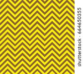 yellow and brown chevron... | Shutterstock .eps vector #664650355