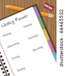 White Paper Notebook With...