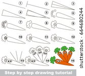 kid game to develop drawing...   Shutterstock .eps vector #664680244