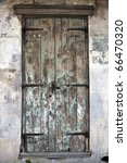 Old Door In French Quarter Of...