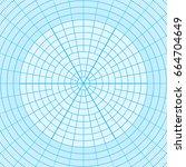 blue graph paper coordinate... | Shutterstock .eps vector #664704649