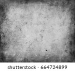 old grunge scratched texture... | Shutterstock . vector #664724899