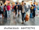 a lot of people. many people.... | Shutterstock . vector #664732741