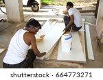 mumbai  maharashtra  india  18... | Shutterstock . vector #664773271