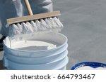 roof coating   Shutterstock . vector #664793467