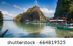 in  philippines  view from a... | Shutterstock . vector #664819525