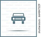 car icon | Shutterstock .eps vector #664847329