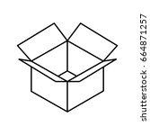 carton box design | Shutterstock .eps vector #664871257