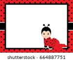 Vector Card Template With A...