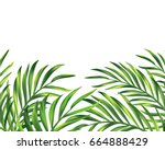 vector eps 10. summer vacation... | Shutterstock .eps vector #664888429