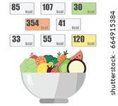 vector illustration for... | Shutterstock .eps vector #664915384