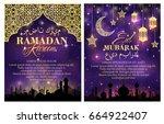 Ramadan Kareem Greeting Poster...