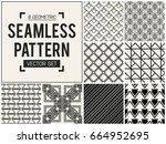 abstract concept vector... | Shutterstock .eps vector #664952695