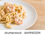 Fettuccini Pasta With Shrimp  ...