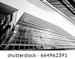 abstract building background | Shutterstock . vector #664962391