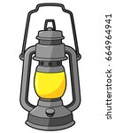 cartoon lantern | Shutterstock .eps vector #664964941