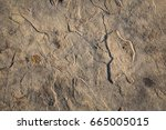 Rocky Surface Of Brick Block A...