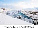 Iceland Waterfalls Cold Winter...