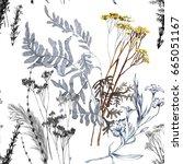 Graphics Autumn Grass Hand...