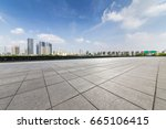 panoramic skyline and buildings ... | Shutterstock . vector #665106415