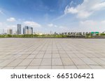 panoramic skyline and buildings ... | Shutterstock . vector #665106421