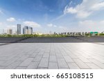 panoramic skyline and buildings ... | Shutterstock . vector #665108515