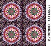 design for fashion banner ... | Shutterstock .eps vector #665130739