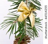 decoration on christmas tree... | Shutterstock . vector #66514255