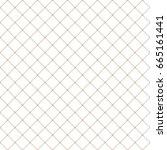 vector beige pattern. geometric ... | Shutterstock .eps vector #665161441