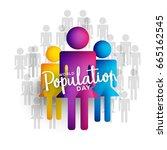 illustration poster or banner... | Shutterstock .eps vector #665162545
