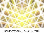 abstract stripes colored... | Shutterstock . vector #665182981