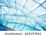 business background blue blurred | Shutterstock . vector #665193961