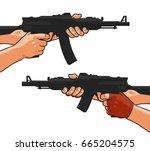 assault rifle  small arm ...