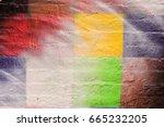 Colorful Checkerboard  Spray...