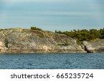 the archipelago sea is the eden ... | Shutterstock . vector #665235724