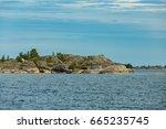 the archipelago sea is the eden ... | Shutterstock . vector #665235745
