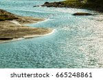 the archipelago sea is finland... | Shutterstock . vector #665248861