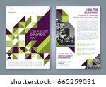 abstract minimal geometric... | Shutterstock .eps vector #665259031