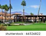 view of golf resort in palm...   Shutterstock . vector #66526822