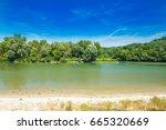 beautiful landscape ... | Shutterstock . vector #665320669